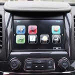 8-inch color touch infotainment screen