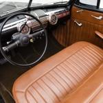 1947 ford deluxe convertible custom brown vinyl interior