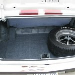 1970 chevrolet chevelle ss396 trunk and spare tire