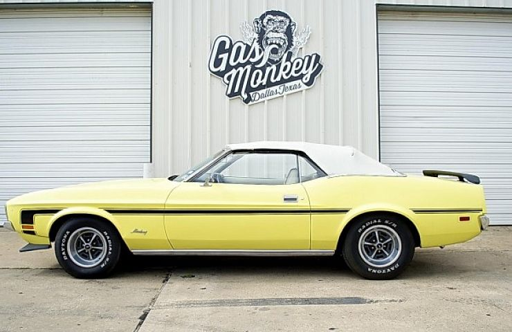 Gas Monkey Garage 1st Ebay Car 1972 Mustang Convertible