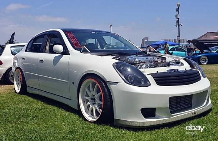 Wekfest Best In Class 2003 Infiniti G35 Sedan Ebay Motors Blog