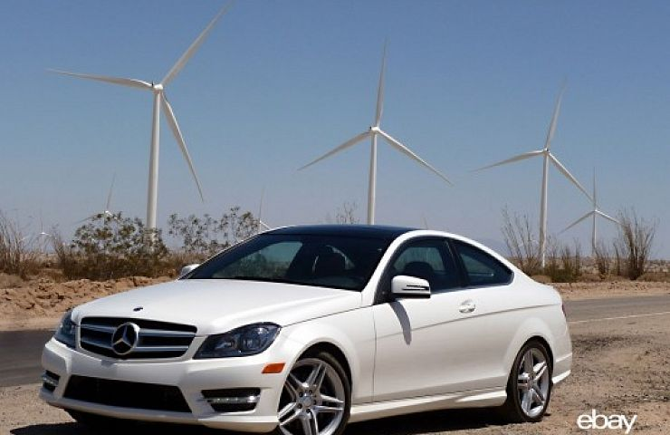 Review 2013 MercedesBenz C350 Coupe  eBay Motors Blog