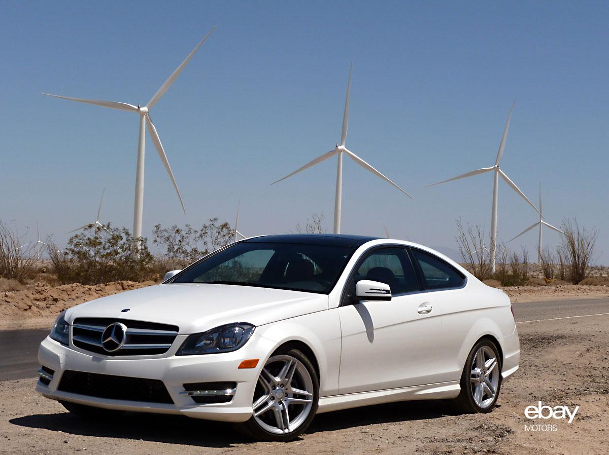 Review: 2013 Mercedes-Benz C350 Coupe | eBay Motors Blog