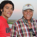 Jesse Williams and Don Prudhomme, Snake and Mongoose movie