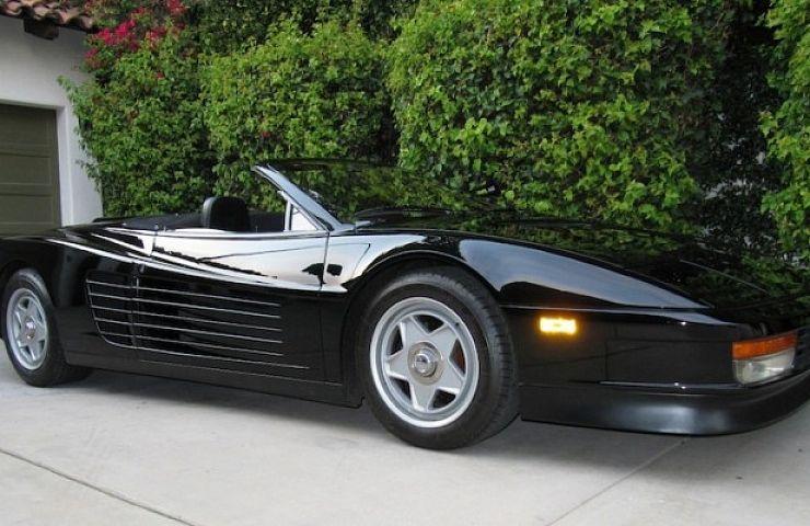 1986 Ferrari Testarossa convertible driven by Michael