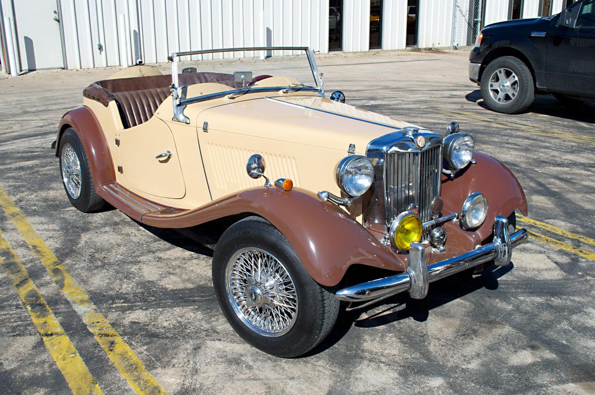 Gas Monkey Garage: 1980 Allison MG TD Ready for Auction | eBay ...