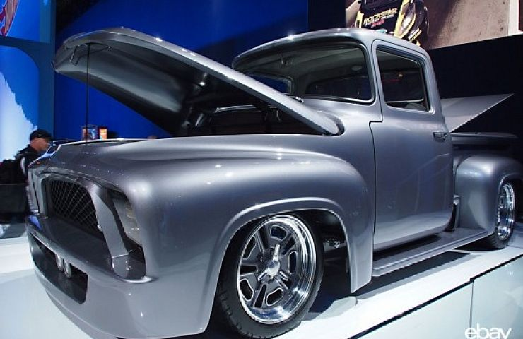 Custom 1956 ford f 100 to be auctioned for charity ebay for How to buy a car from charity motors