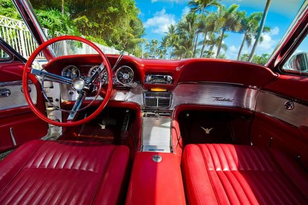 1961 Ford Thunderbird Convertible Interior