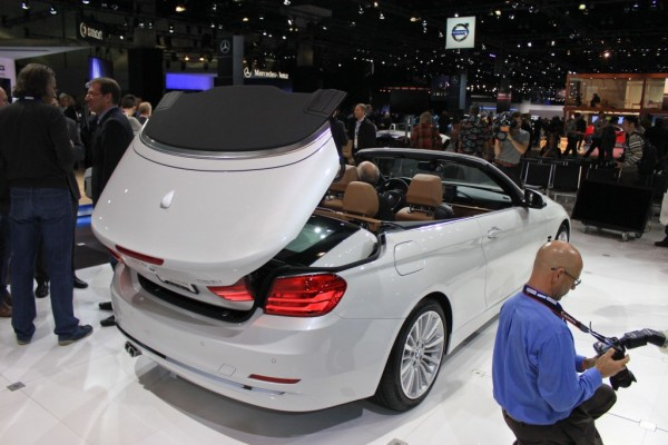 BMW Series Convertible At LA Auto Show EBay Motors Blog - 2013 bmw 4 series convertible