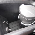 BMW i3 fancy cupholder