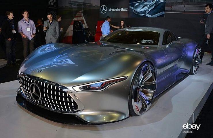 Mercedes Benz Amg Vision Gran Turismo Concept Ebay Motors Blog