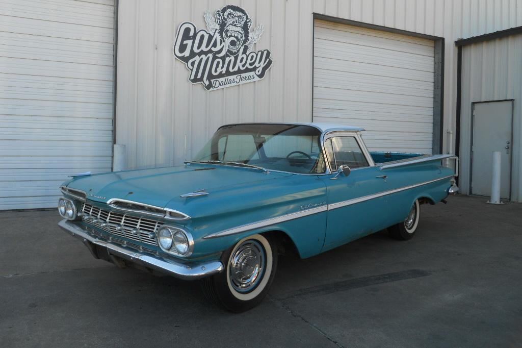 Gas Monkey Garage 1959 El Camino Ready To Sell Ebay Motors Blog