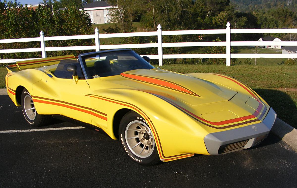 The Big Banana Rides Again Ebay Motors Blog 1968 Chevrolet Corvette Project Car Listing Craft Magazine Cover Model