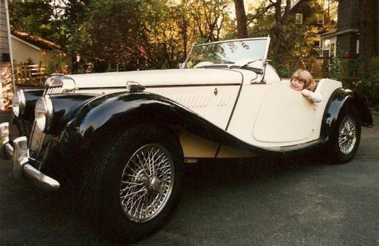 Ebay Garage Pow 1954 Mg Tf Ebay Motors Blog