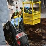 Corvette Sinkhole Extraction