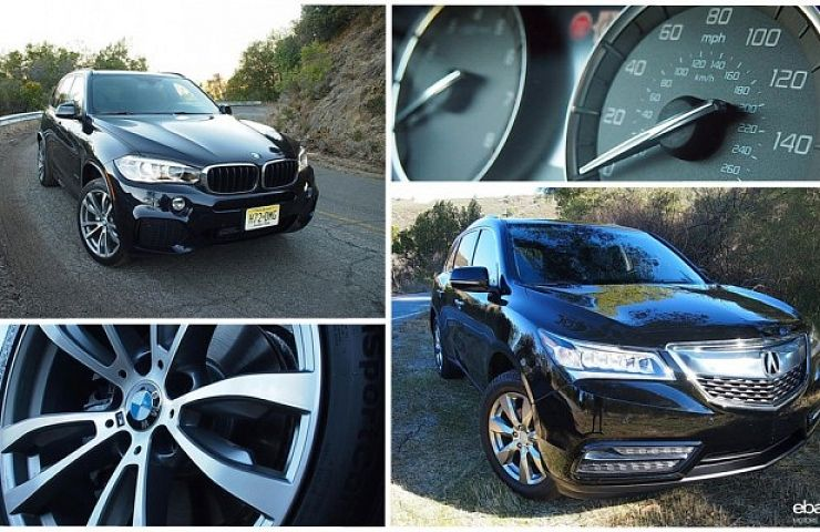 Review BMW X Vs Acura MDX EBay Motors Blog - Acura mdx review 2014