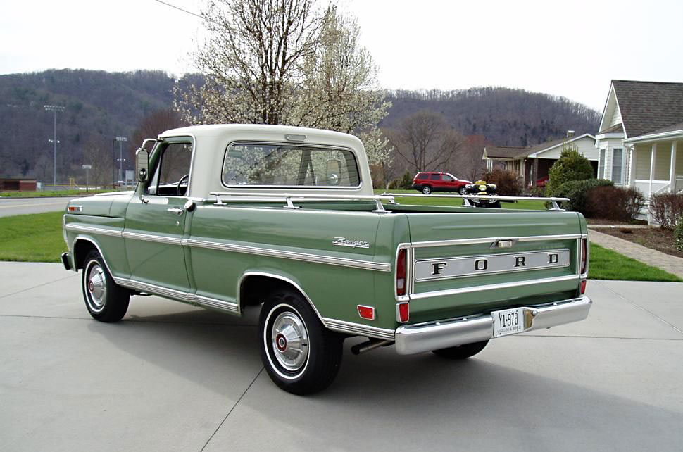 1969 Ford F100 – Field of Dreams | eBay Motors Blog