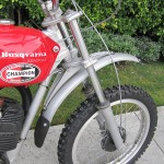 1971 husqvarna 250s previously owned by steve mcqueen