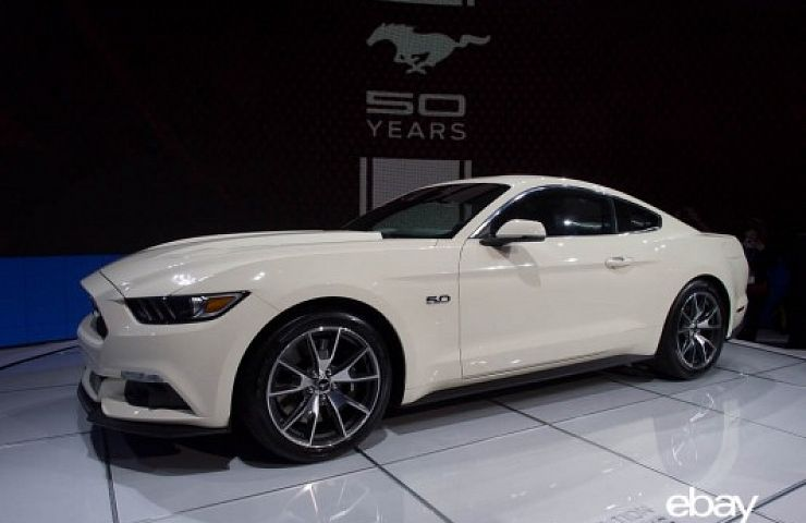 mustang 50th anniversary limited edition