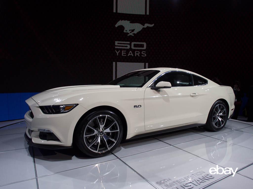 Limited Edition 50th Anniversary Ford Mustang Ebay Motors Blog