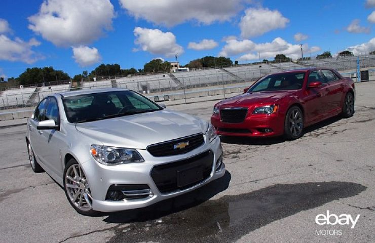 Round 1 American Muscle Cars Chevrolet Ss Vs 300 Srt We Take 2 Sedans
