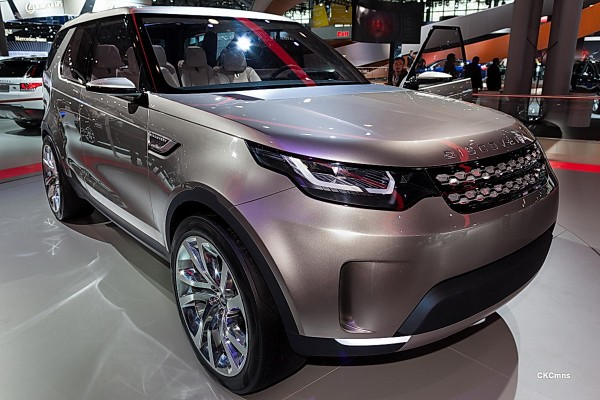 Land Rover Discovery Vision concept   NYIAS — eBay Motors Blog