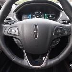 Lincoln MKZ steering wheel controls