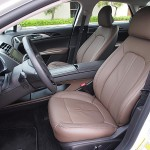 Lincoln MKZ interior front seats