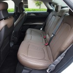 Lincoln MKZ back seats