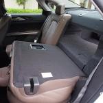 Lincoln MKZ Hybrid 60/40 split folding rear seats