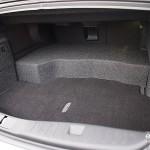Lincoln MKZ Hybrid trunk area
