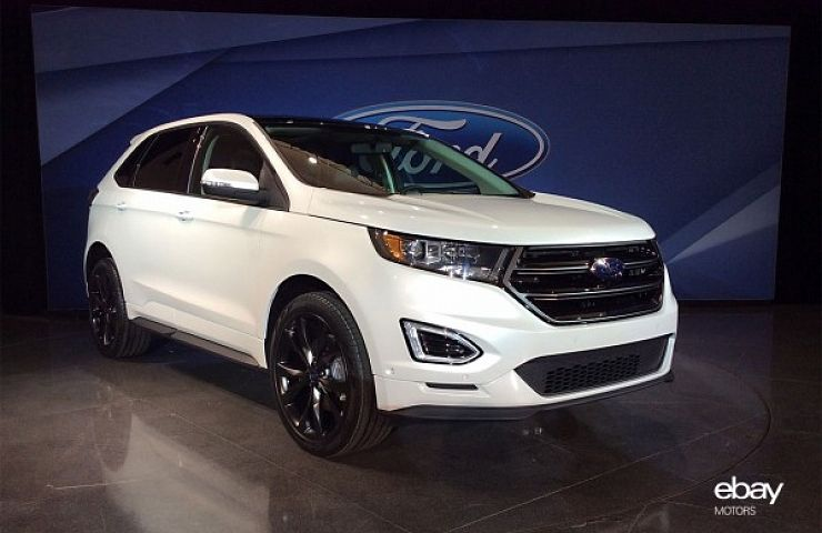 New  Ford Edge Crossover Quieter Smoother Ride New Engines