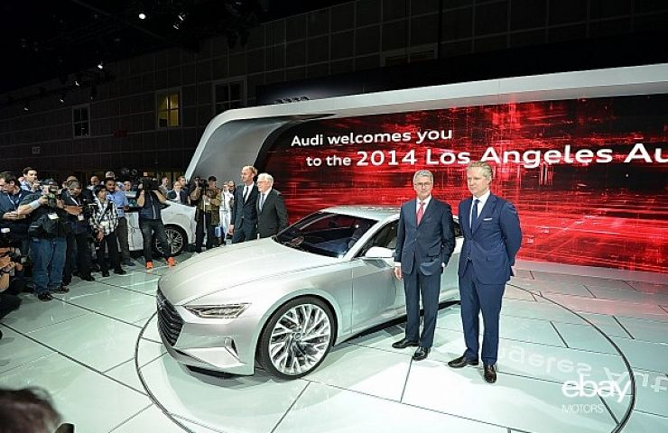 Audi Prologue Concept Car Debuts At LA Auto Show EBay Motors Blog - La auto show car debuts