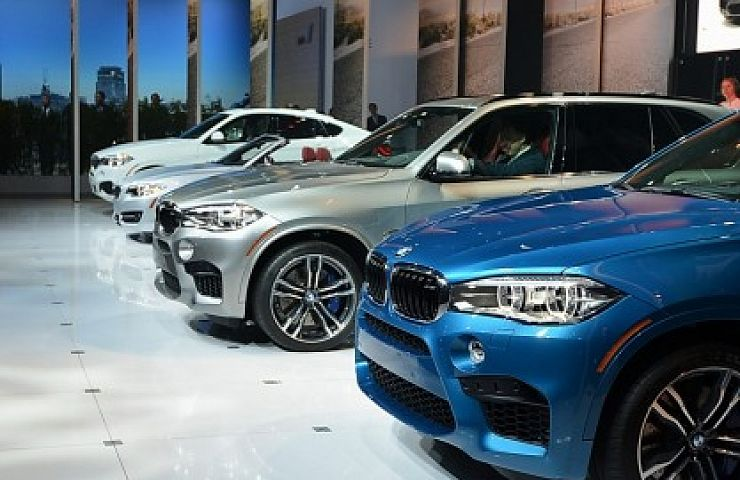 New Bmws On Stage At 2014 Los Angeles Auto Show Ebay