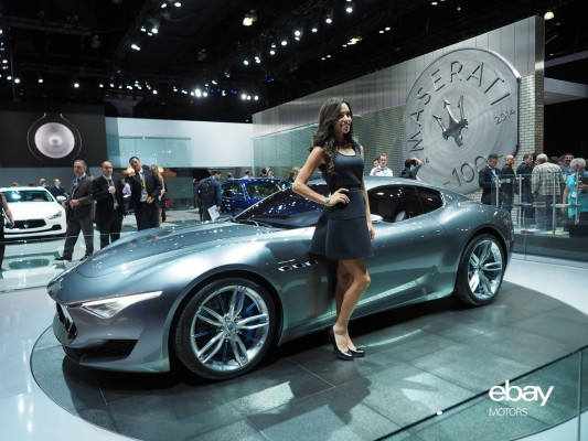 Maserati Alfieri 2+2 Concept at 2014 LA Auto Show — eBay Motors Blog
