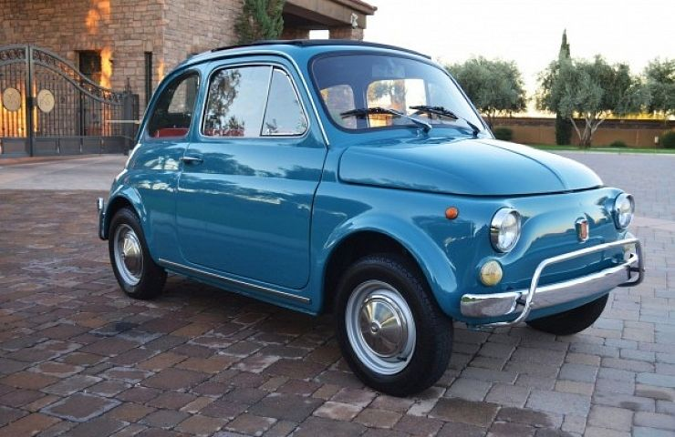 Mighty Mouse: 1971 Fiat 500L | eBay Motors Blog