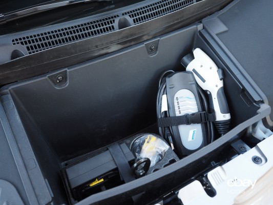 2014 BMW I3 Front Trunk Space