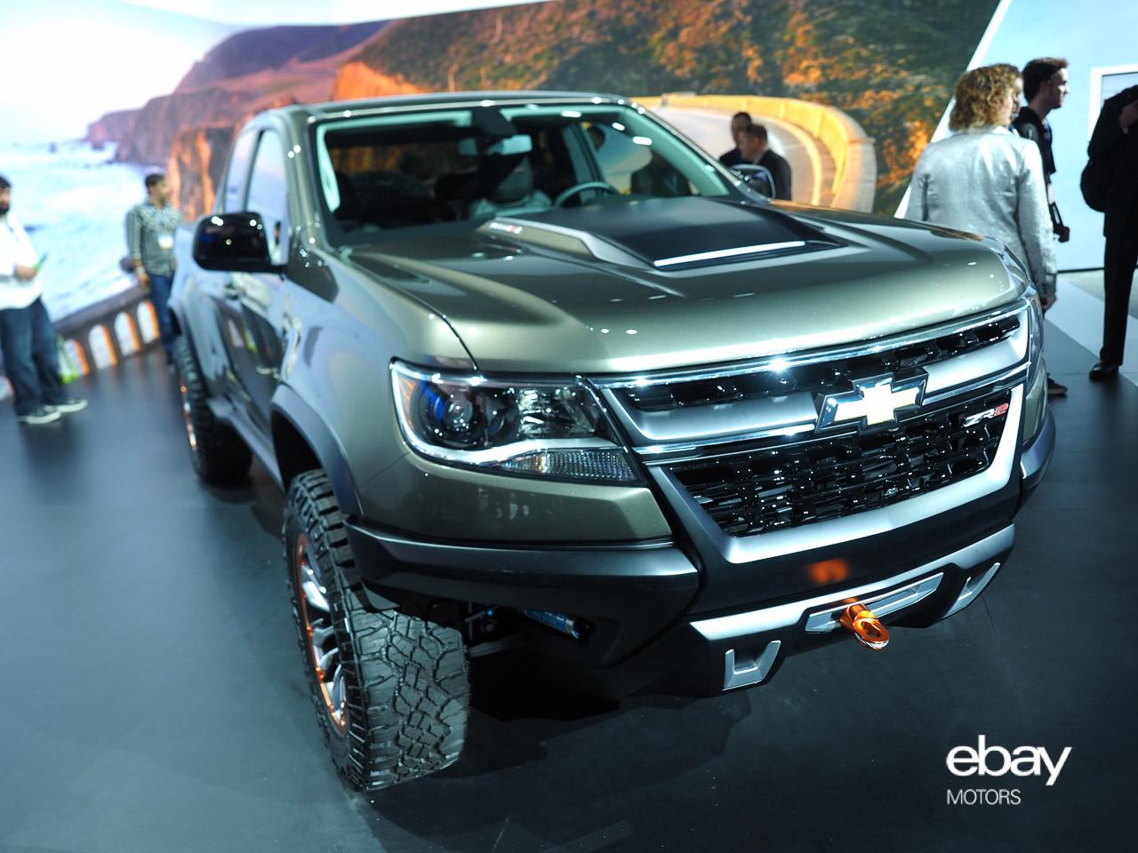 Colorado chevy colorado zr2 concept : Chevrolet Colorado ZR2 Concept at LA Auto Show | eBay Motors Blog