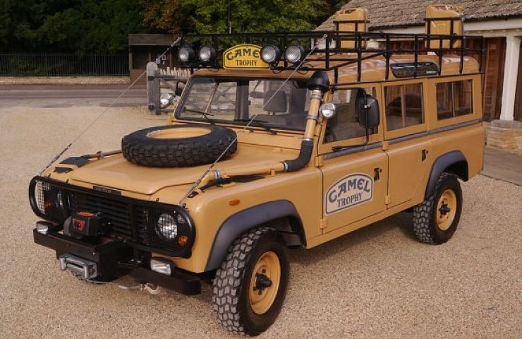 1983 Land Rover Defender Camel Trophy | eBay Motors Blog
