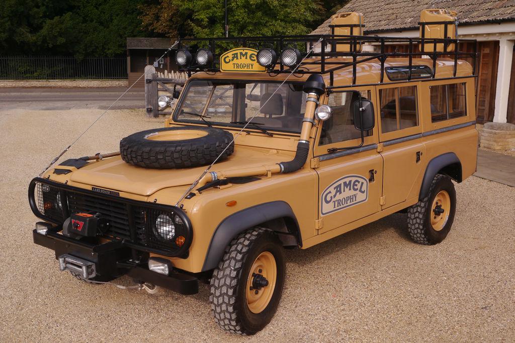 1983 Land Rover Defender Camel Trophy | eBay Motors Blog
