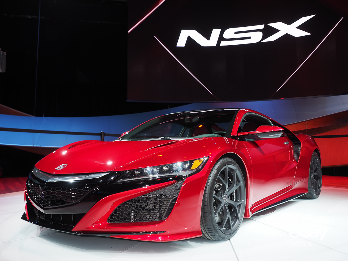 All-New Acura NSX is Now a Reality | eBay Motors Blog