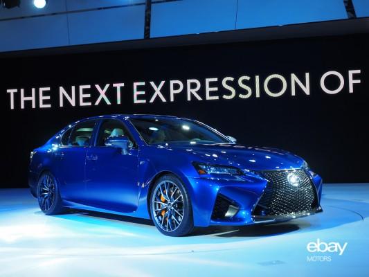 016 Lexus GS F debut at 2015 NAIAS — eBay Motors Blog