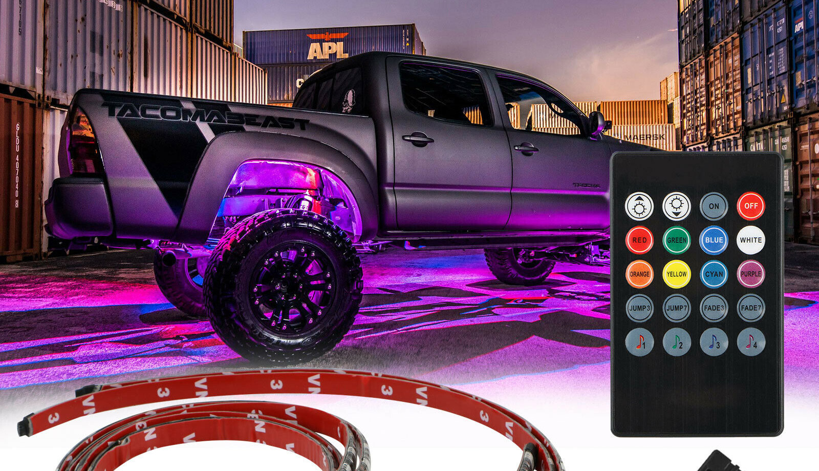 Controller for truck underglow
