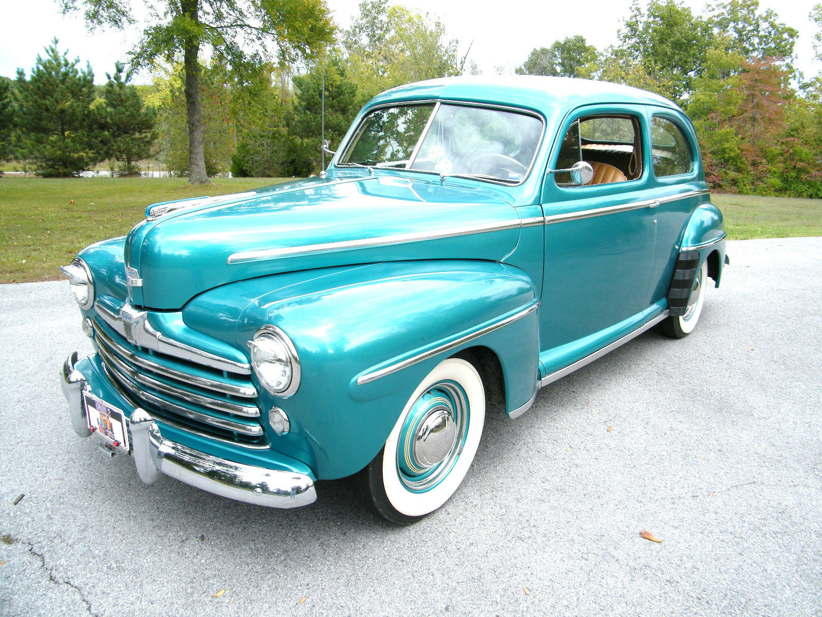 1948 Ford with Mercury Flathead V8 | eBay Motors Blog