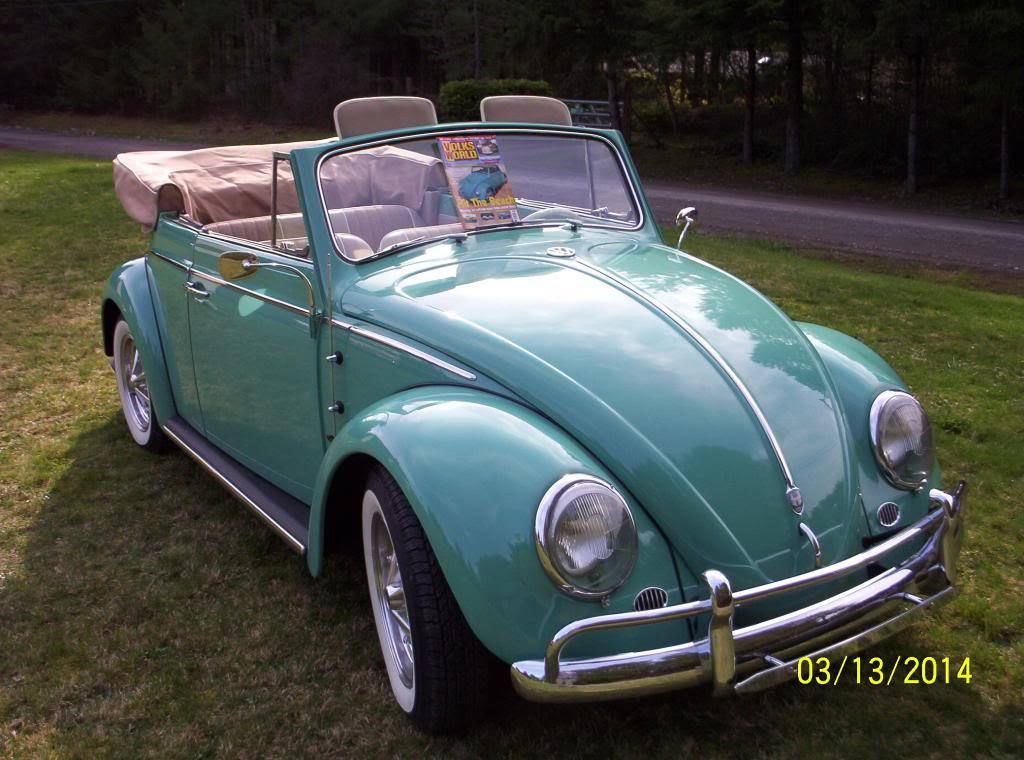 1962 Volkswagen Beetle Convertible Ebay Motors Blog