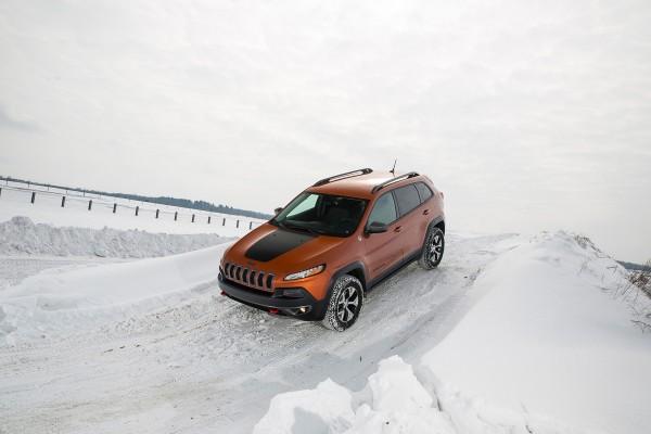 015 Jeep® Cherokee Trailhawk Fca Winter Driving Event Ebay