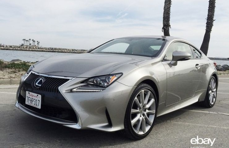 review 2015 lexus rc 350 one day in l a ebay motors blog. Black Bedroom Furniture Sets. Home Design Ideas