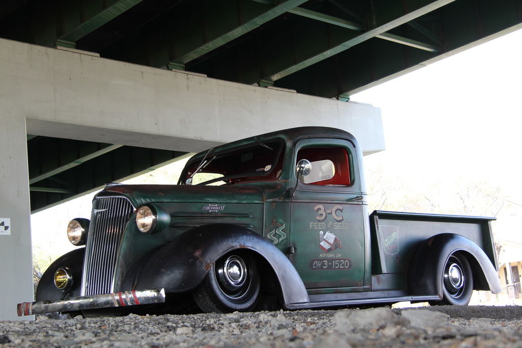 1937 Chevrolet C-10 Rat Rod Photo Gallery | eBay Motors Blog