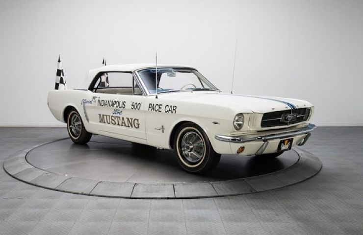 Legendary 64 Mustang Indy Pace Car Was Almost Forgotten Ebay Motors Blog