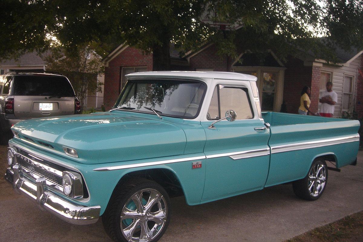 A Son\'s Rolling Chevy C10 Memorial to His Veteran Dad | eBay Motors Blog